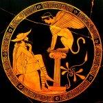 Oedipus & Sphinx