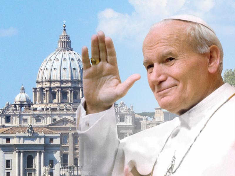 Pope (Soon To Be Saint) John Paul II