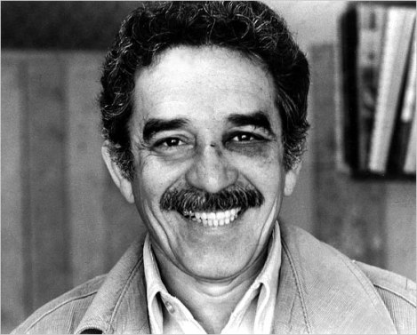 Gabriel Garcia Marquez with Shiner