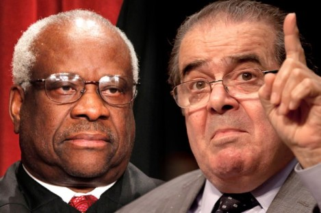 The SCOTUS Retards: Thomas and Scalia