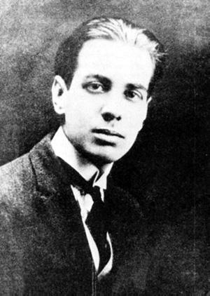 Jorge Luis Borges in 1921