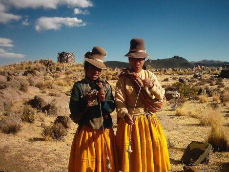 Two Aymara or Quechua Women