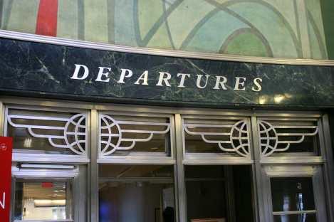 Art Deco Doors at LaGuardia's Marine Air Terminal