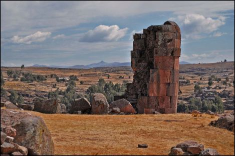 Ancient Aymara Burial Towers