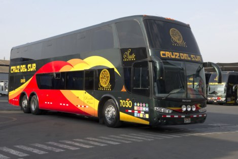 Cruz Del Sur (Southern Cross) Is One of Peru's Premier Bus Lines