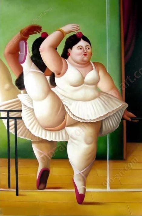 Botero Ballerina