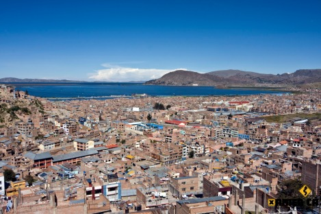 Puno on the Shore of Lake Titicaca