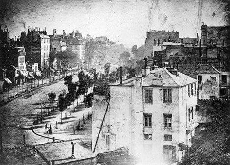 Paris 1838: Do You See the Man at the Lower Left?