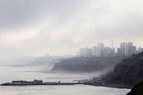 The Garúa Investing the Coastline of Lima