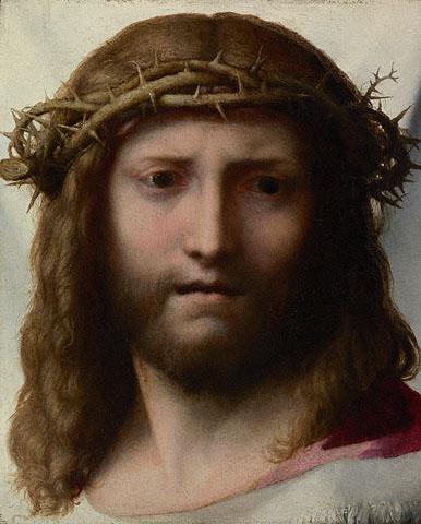 """Correggio's """"The Head of Christ"""" (1530)"""