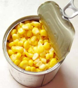 And Then There Was the Canned Corn