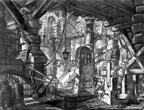 One of Giambattista Piranesi's Carceri Prints