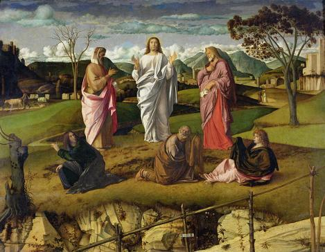 "Giovanni Bellini's ""The Transfiguration"" (1480)"