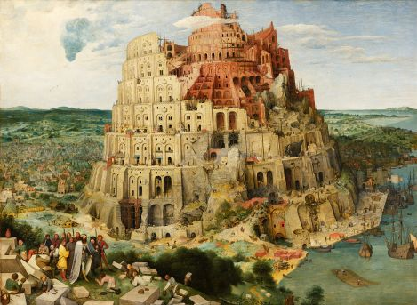 "Peter Breughel the Elder's ""The Tower of Babel"""