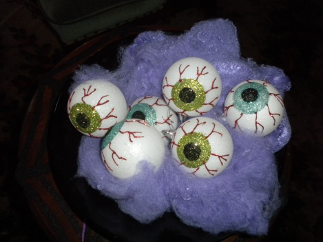 A Nice Plate of Eyeballs Pour Vous