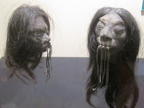 Shrunken Heads from the Amazon