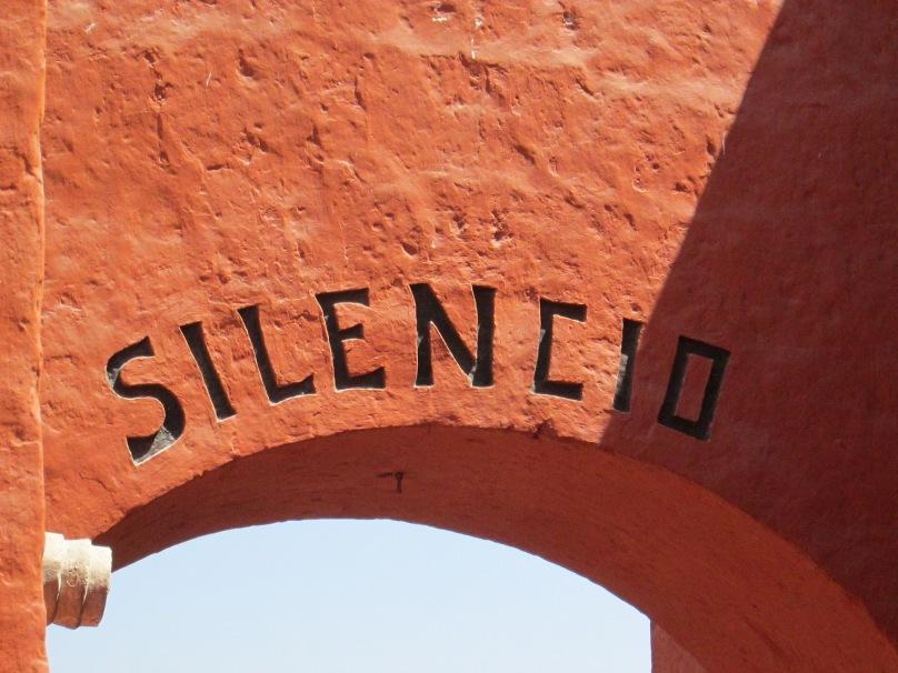 The Gateway to Santa Catalina Convent