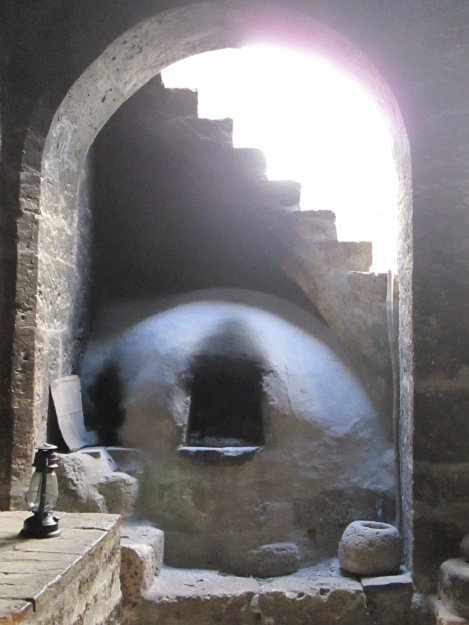 Oven and Stairway to Nowhere