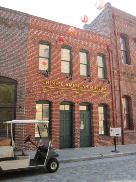 The Chinese American Museum on North Los Angeles Street