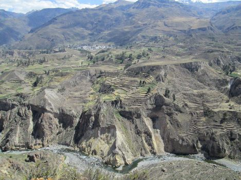 Colca Canyon in the State of Arequipa