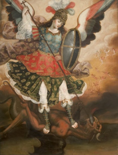 The Archangel Michael Vanquishing Satan