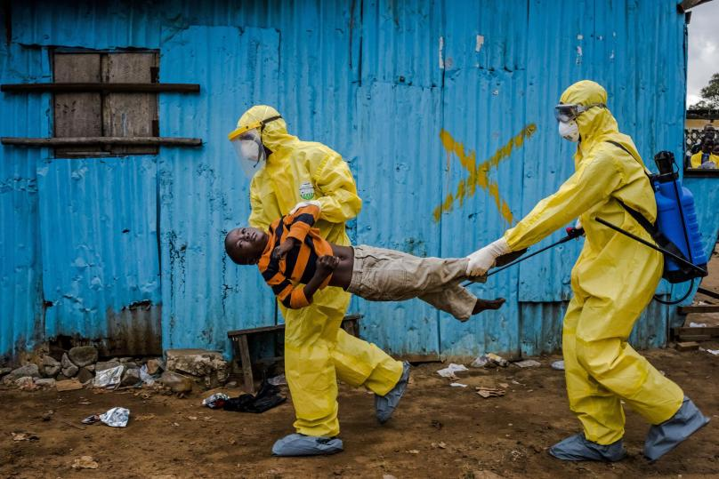 So You Really Think You're Going to Catch Ebola?