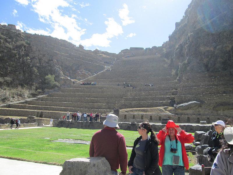 Inca Ruins at Ollantaytambo