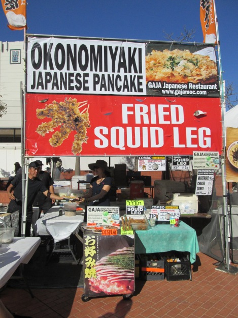 Get Your Fried Squid Legs Here!