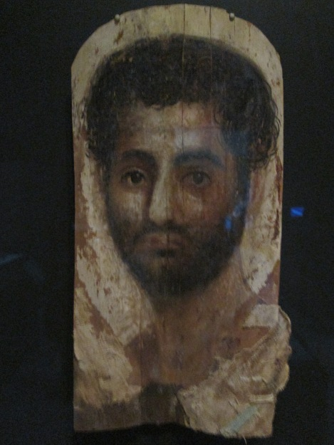 Mummy Portrait of a Young Man