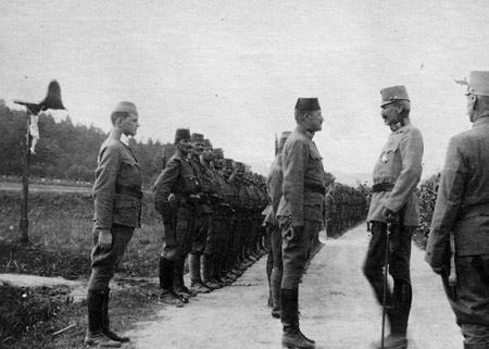 Hungarian Soldiers at the Front