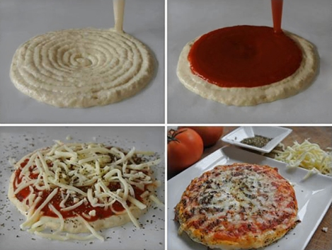 Now You Can Use a 3-D Printer to Make a Pizza