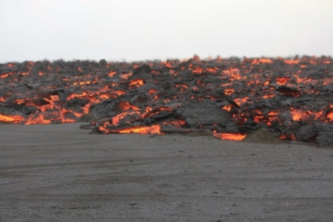 Magma from Holuhraun