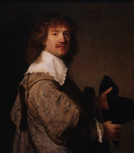 "Rembrandt's ""Portrait of a Man Holding a Black Hat"""