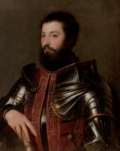 "Titian's ""Portrait of a Man in Armor"""