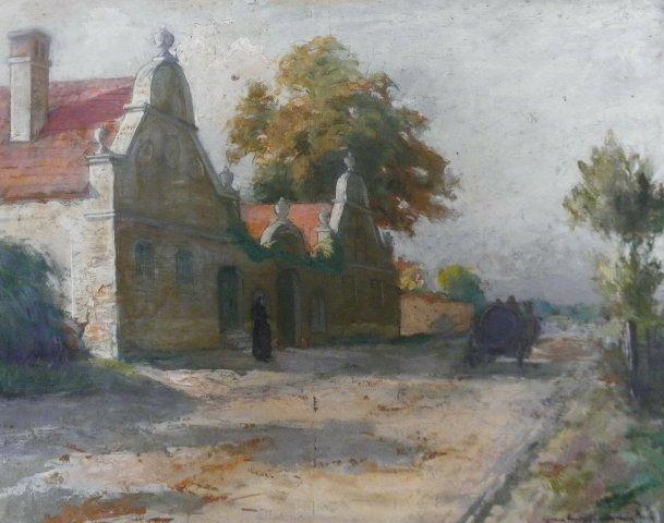 Painting by Béla Zombory-Moldován
