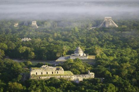The Mayan Ruins at Chichén Itzá