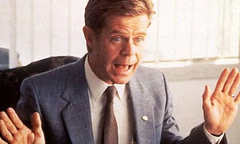 William Macy as the Car Salesman in Fargo