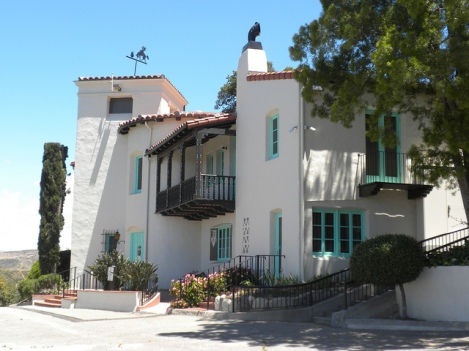 The William S. Hart House in Newhall, CA