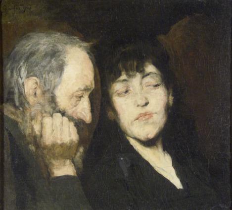 """Jenö Gyárfás's """"Youth and Age"""""""