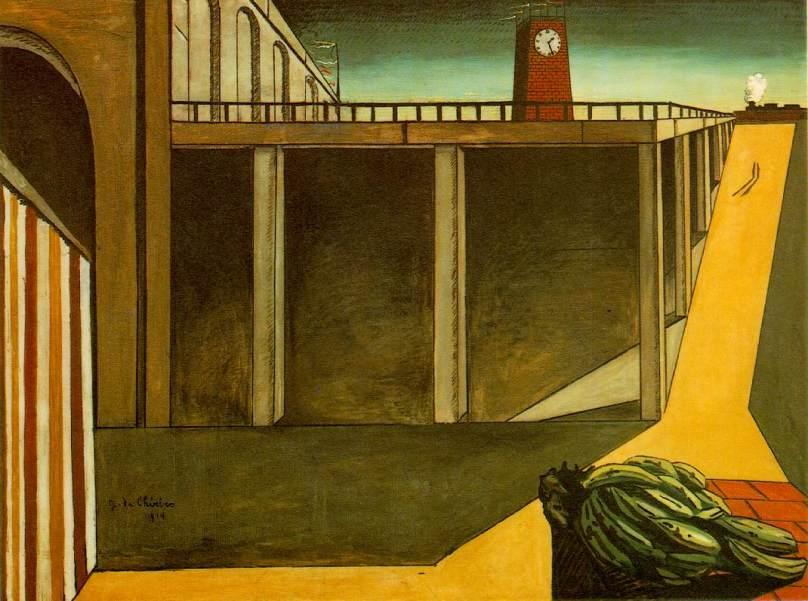 "Giorgio di Chirco's ""Gare Montparnasse: The Melancholy of Departure"""