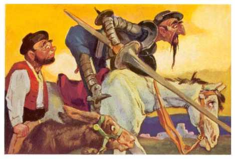 Did Quixote Imagine It All?