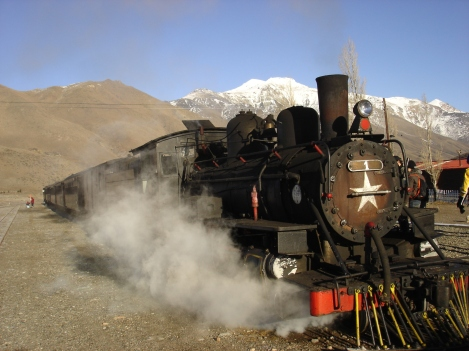 One of the Two Remaining Stretches of Patagonia's Classic Narrow-Gauge Railway