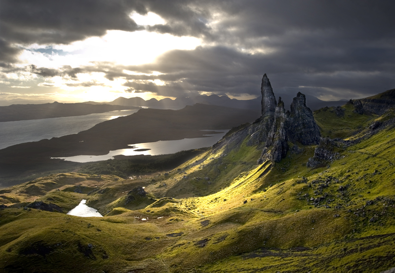 The Isle of Skye in the Hebrides