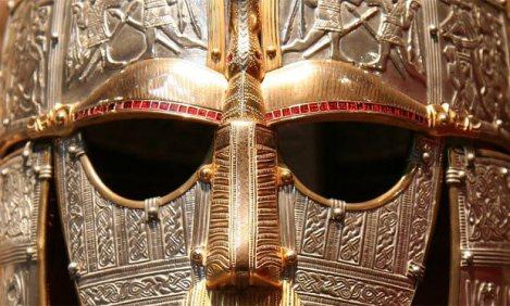 Anglo-Saxon Battle Helmet