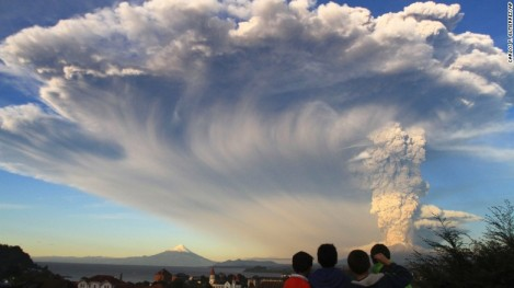 Chile's Calbuco Volcano in Eruption