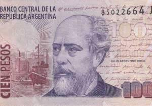 Argentine 100-Peso Note