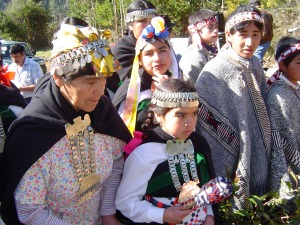 Mapuche Indian Women