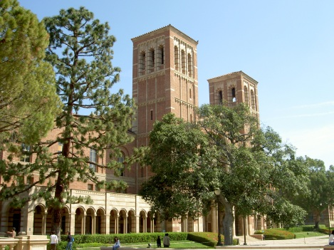 Royce Hall on the Campus of the University of California at Los Angeles