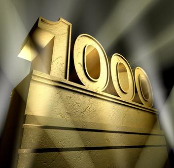 My 1,000-Post Anniversary