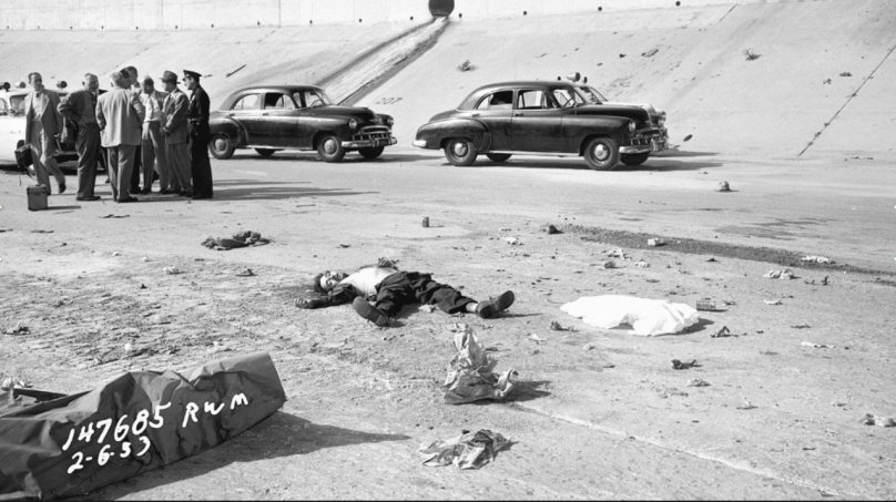 From a New Book on LA Crime Scene Photos from 1953